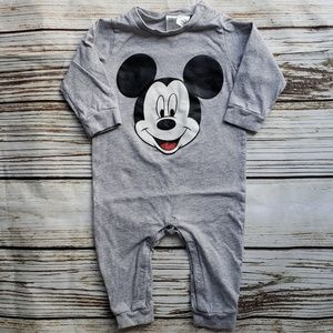 H&M 6-9mo Mickey Mouse romper
